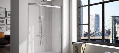 Mampara de ducha corredera City