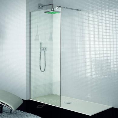 Mampara fija de ducha de aspecto minimalista 300 de Kassandra