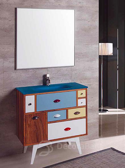 Elige un mueble de baño con patas original para tu hogar