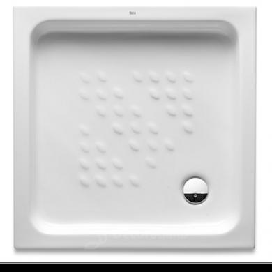 Plato de ducha de porcelana de la firma Roca