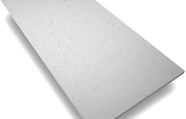 Plato de ducha de piedra en cuarzo color gris
