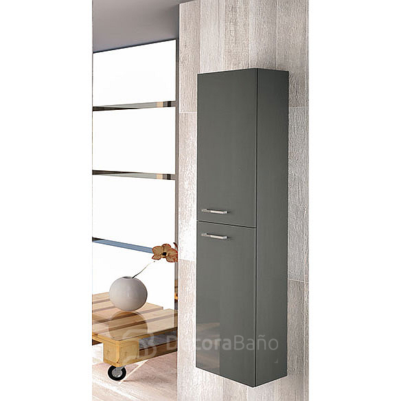 Columna de baño Easy de Royo Group 150x30x24cm antracita
