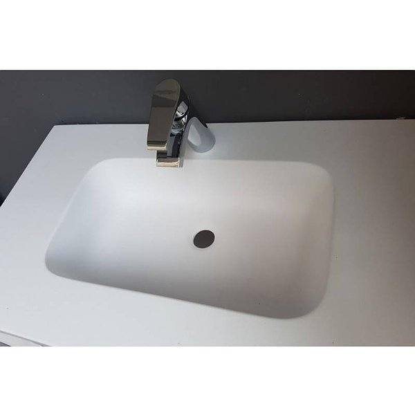Forma Seno lavabo suspendido Solid Surface Illice