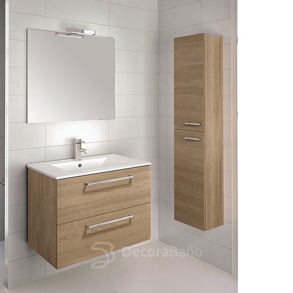 Mueble de baño Easy de Royo Group nogal arenado