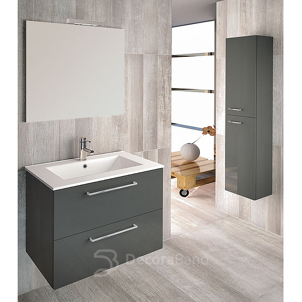 Mueble de baño Easy de Royo Group antracita
